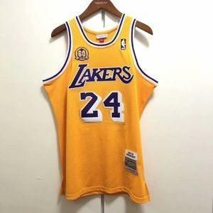 NBA Shirts - Lakers Kobe Bryant 60th Anniversary #24 Jersey